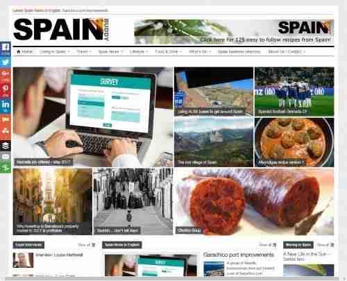 Spain Web Design