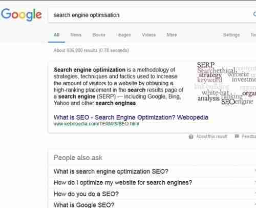 Search Engine Optimisation Spain