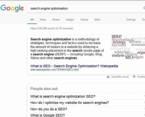Spain Web Design - Search Engine Optimisation (SEO)