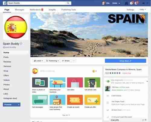 Spain Web Design - Social Networking