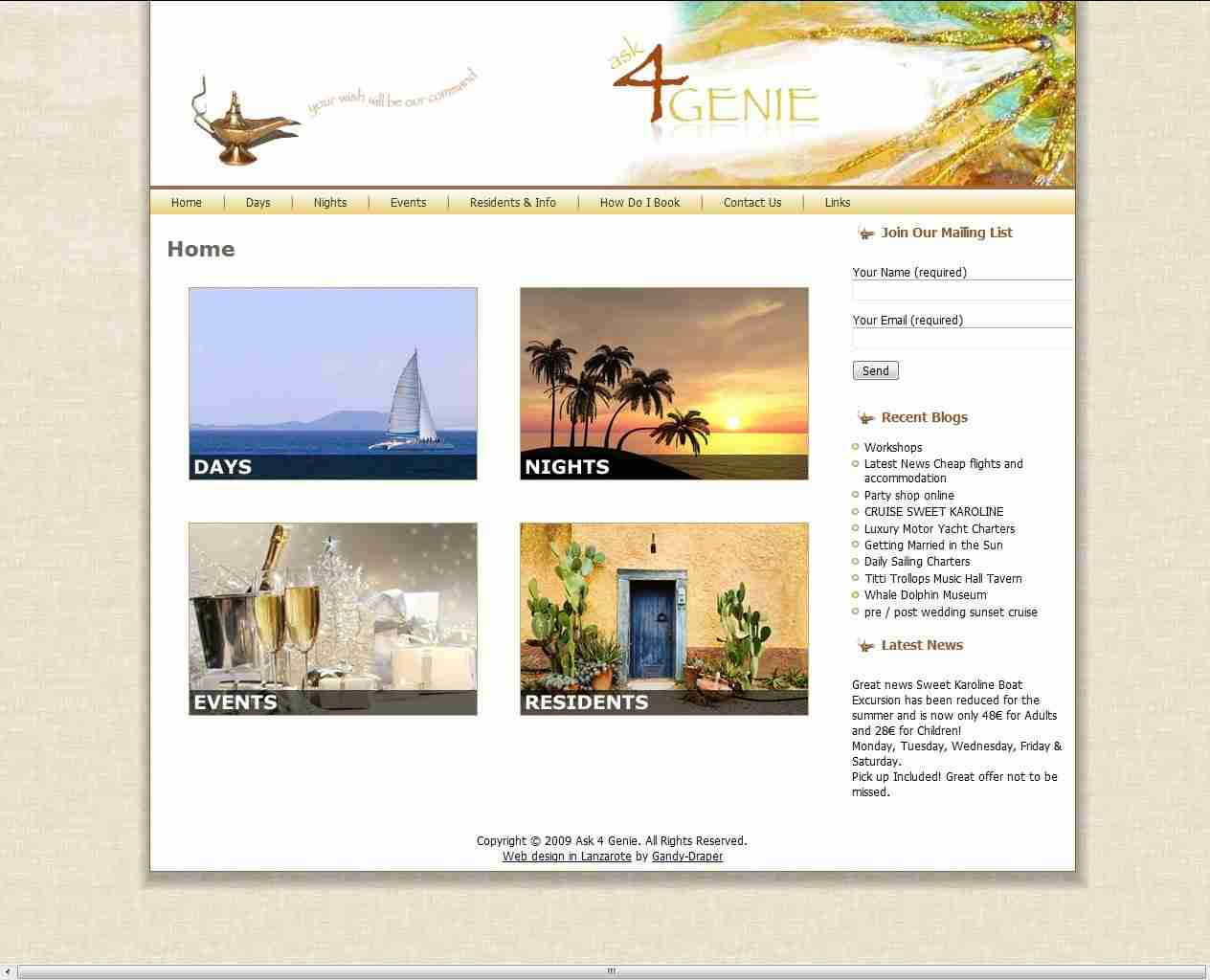 Spain Web Design and more by Gandy-Draper | ...knowledgeable and honest approach