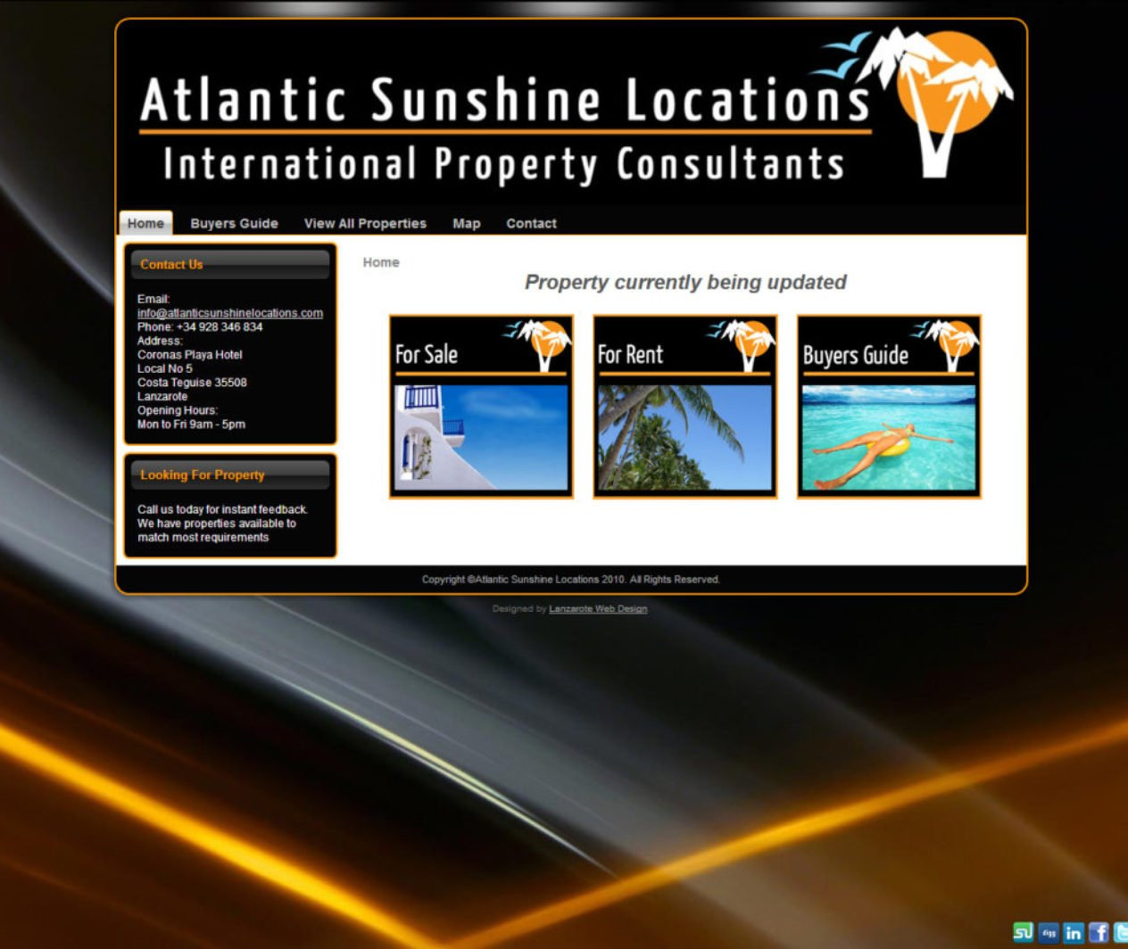 Atlantic Sunshine Locations