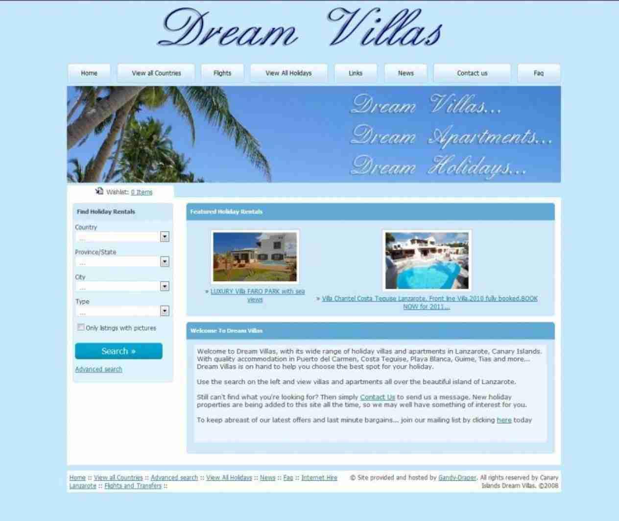 Canary Islands Dream Villas