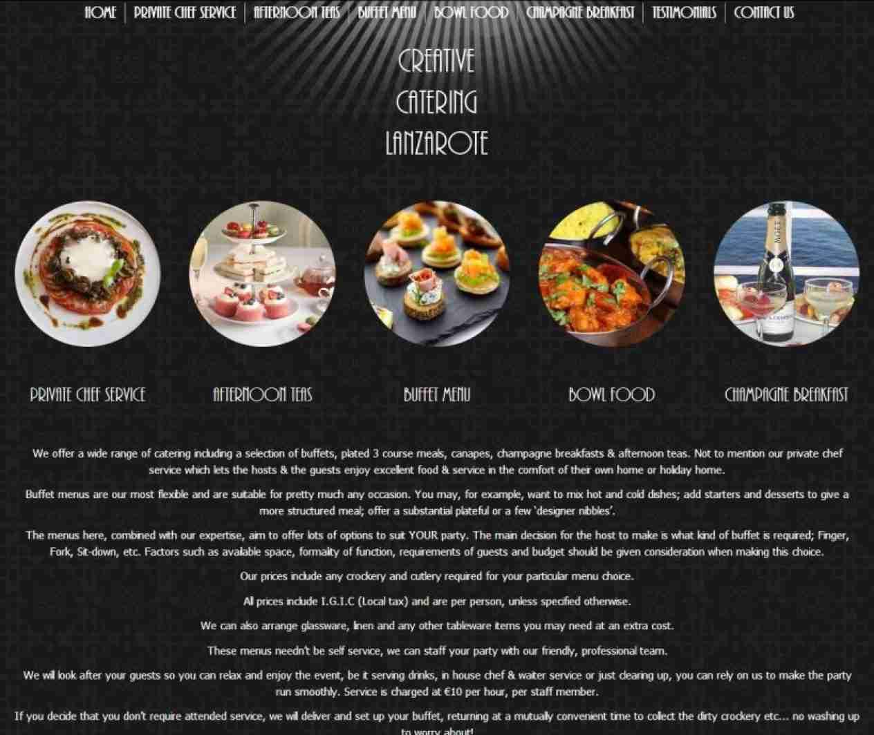 Creative Catering Lanzarote