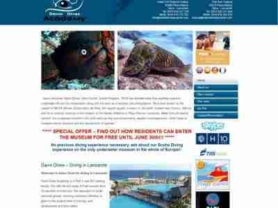 Dawn Dives Lanzarote