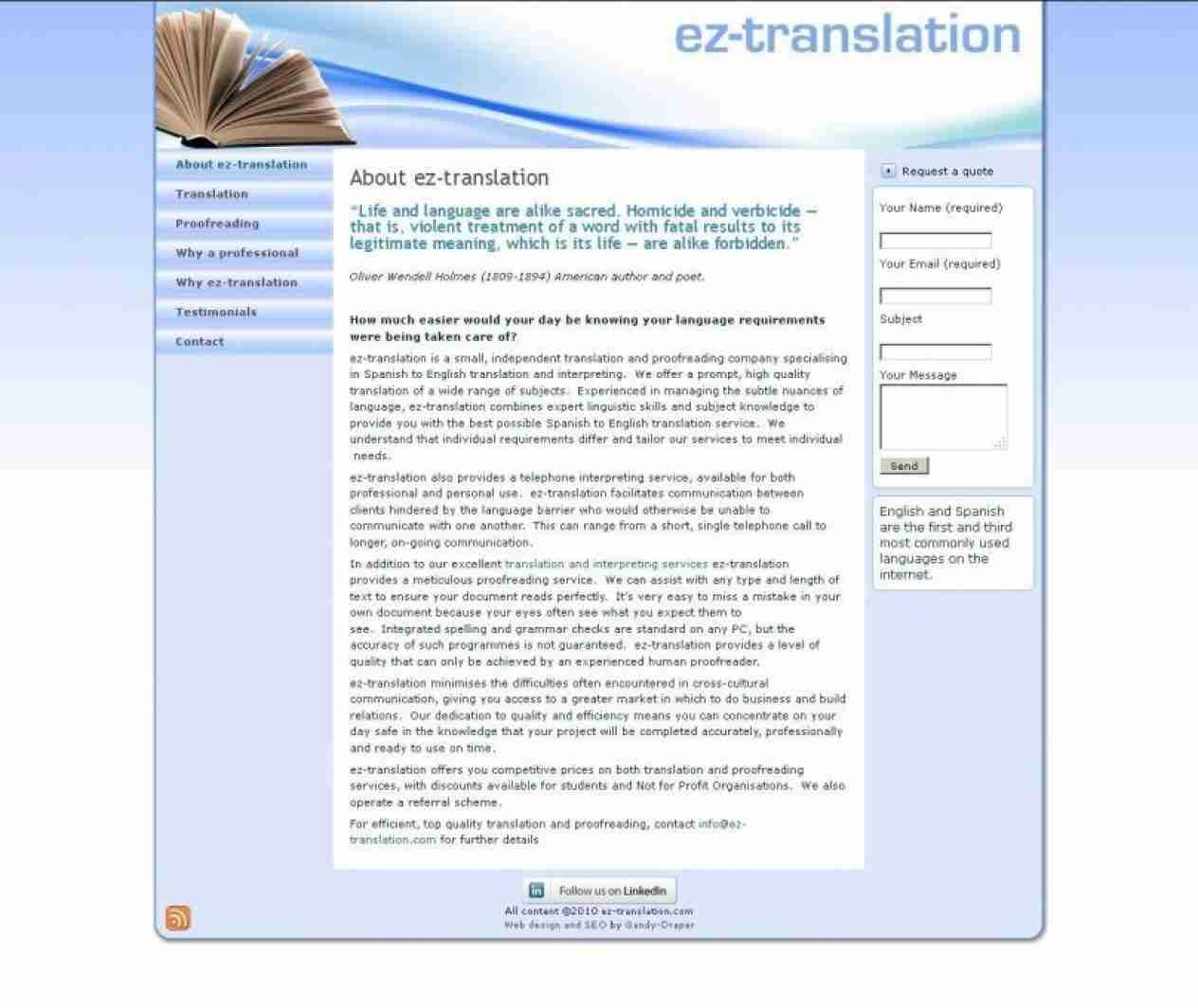 EZ Translation