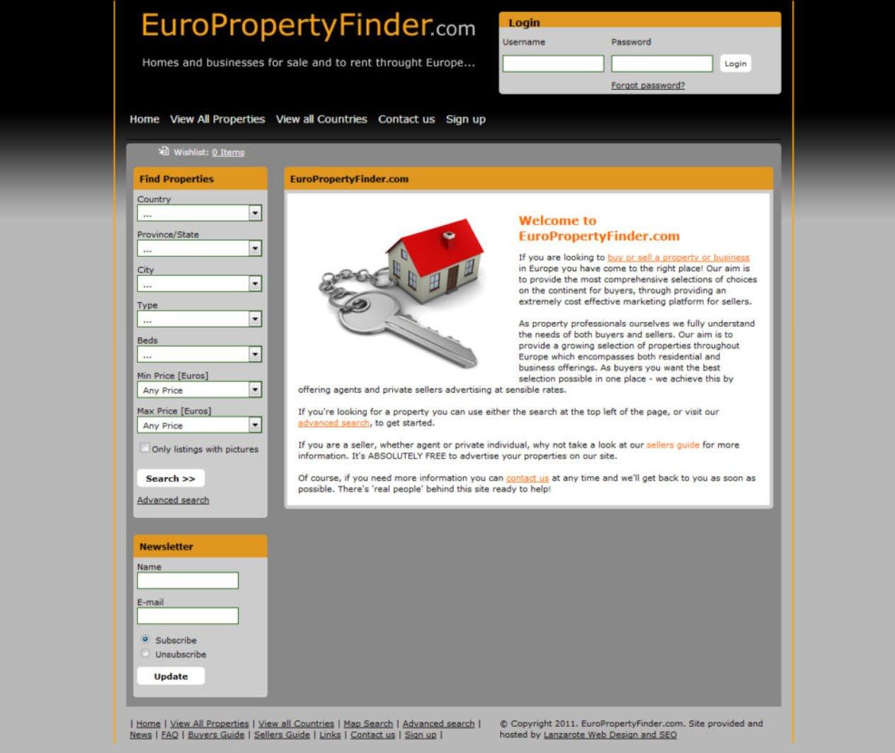 Euro Property Finder