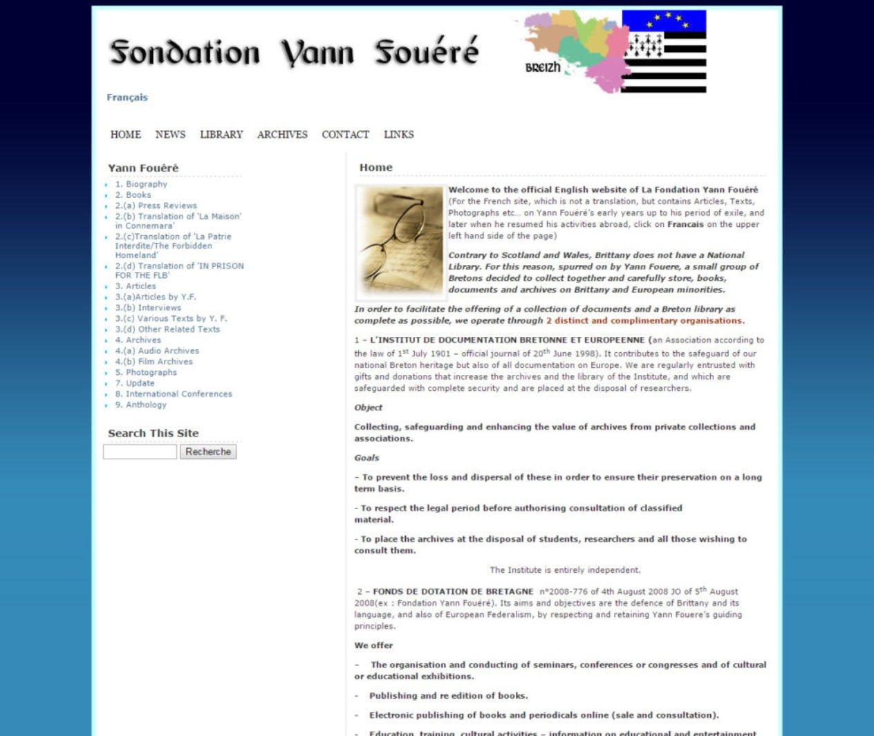 Fondation Yann Fouere