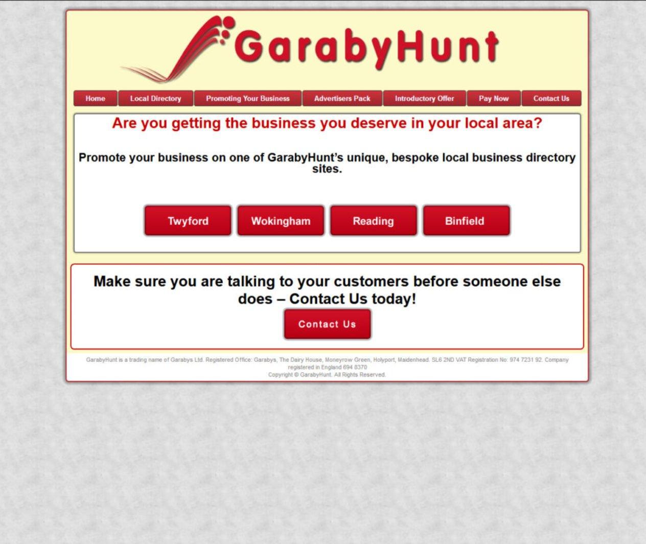 Garaby Hunt