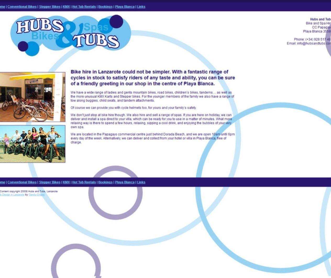 Hubs and Tubs