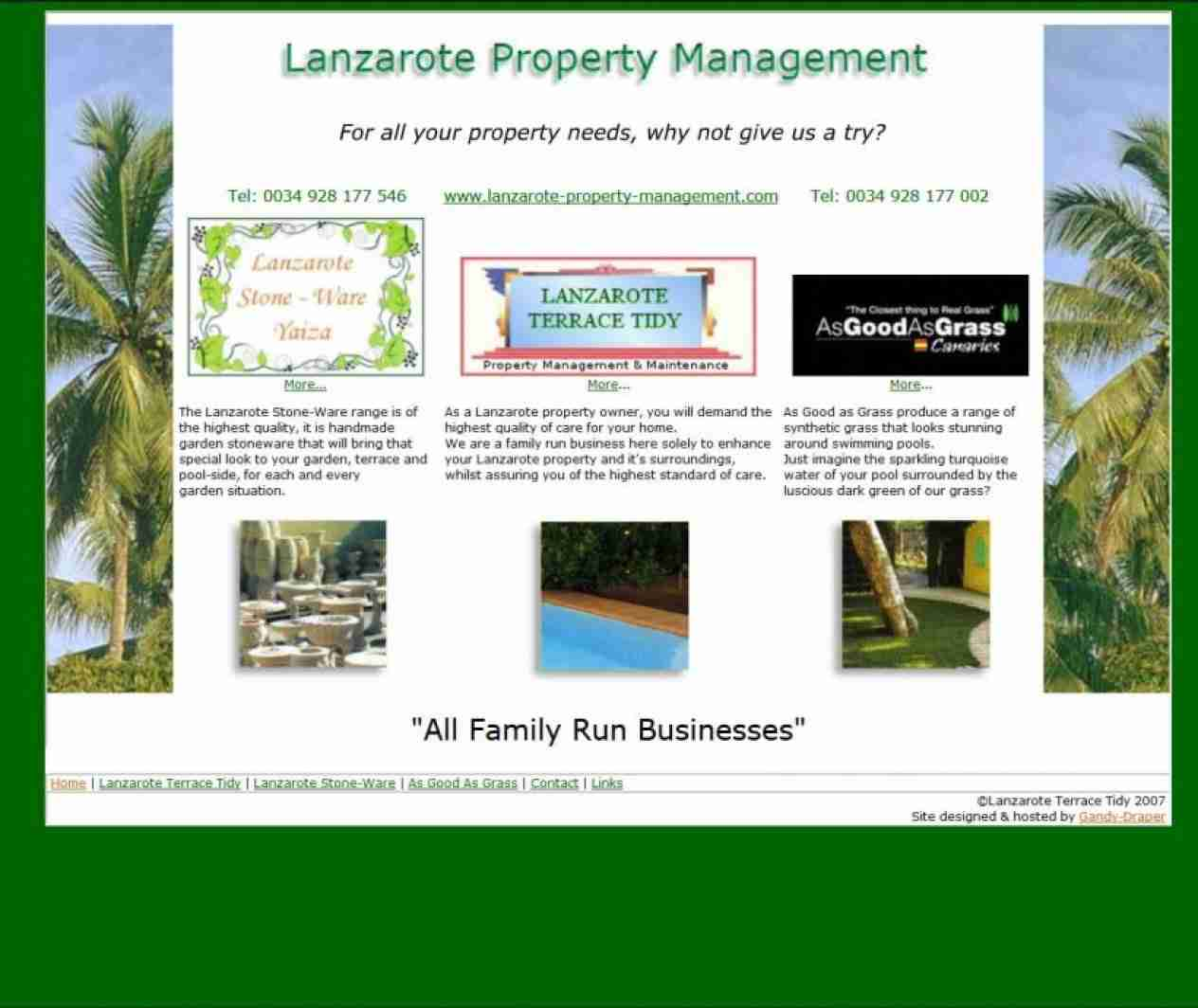 Lanzarote Property Management