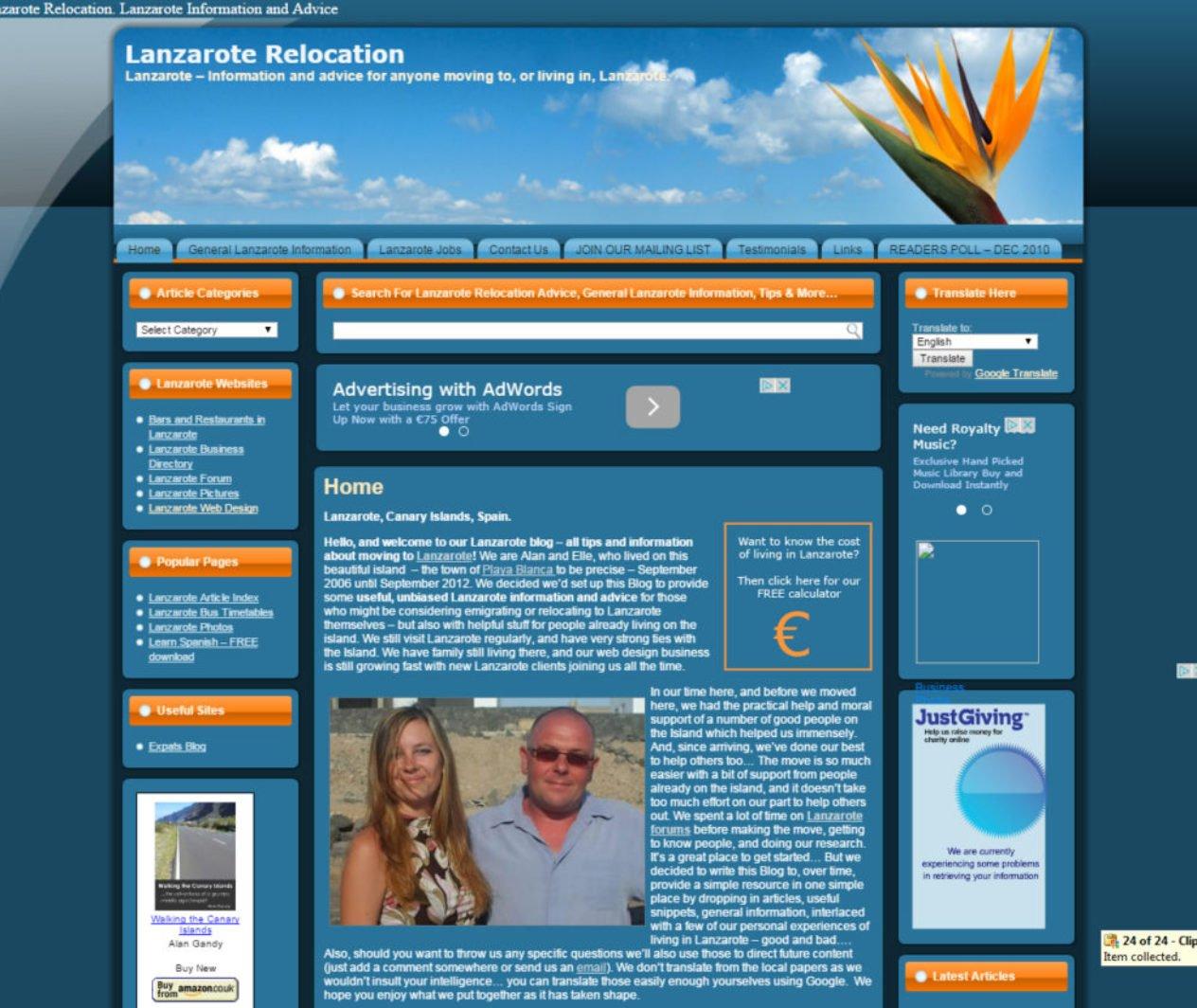 Lanzarote Relocation
