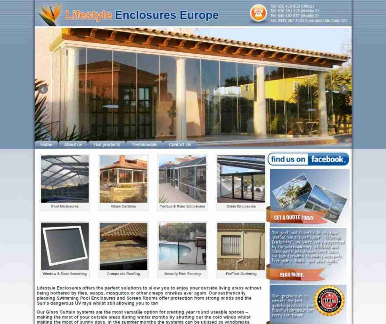 Lifestyle Enclosures Europe