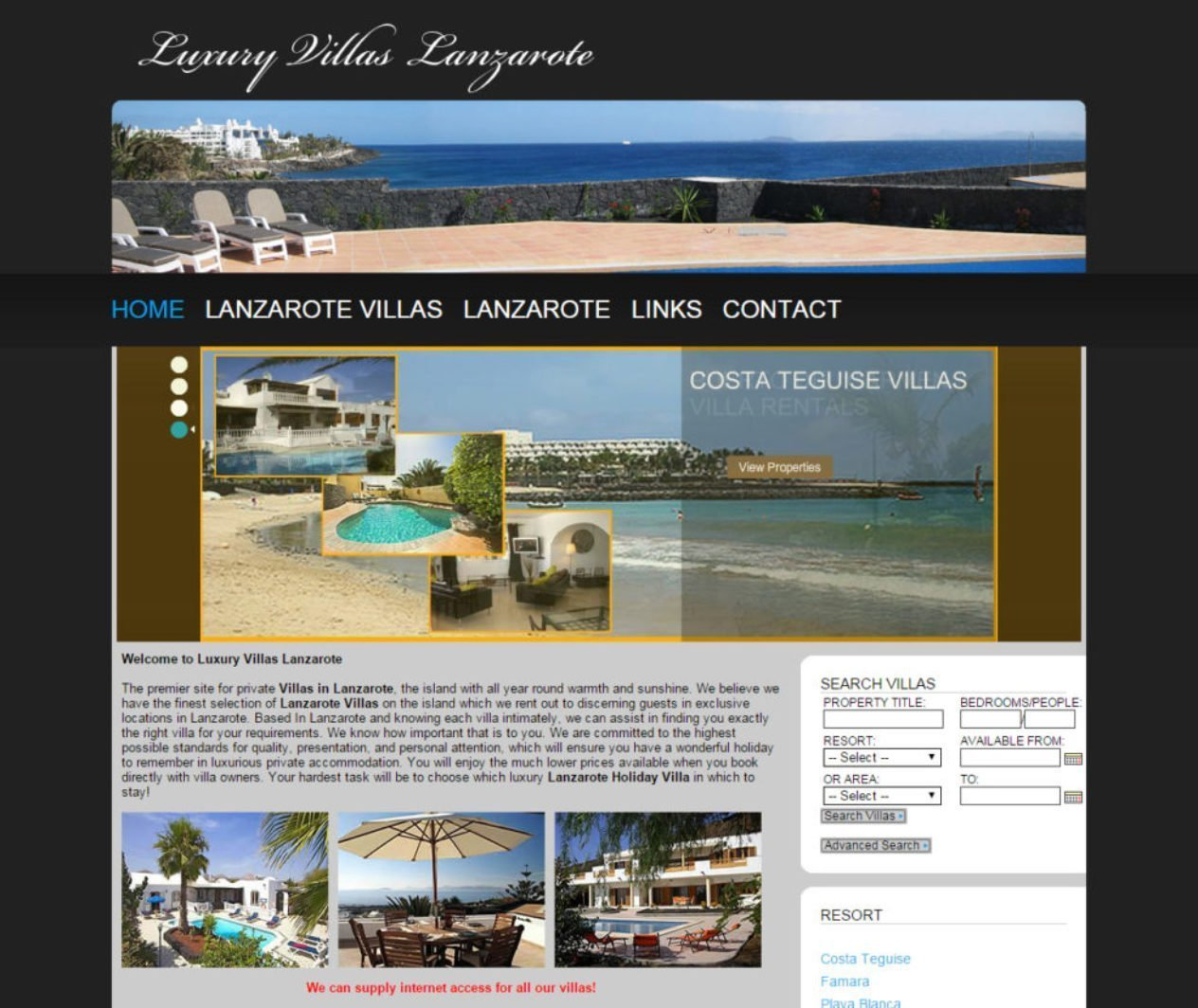 Luxury Villas Lanzarote