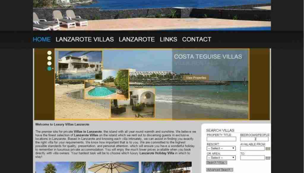 Luxury Villas Lanzarote