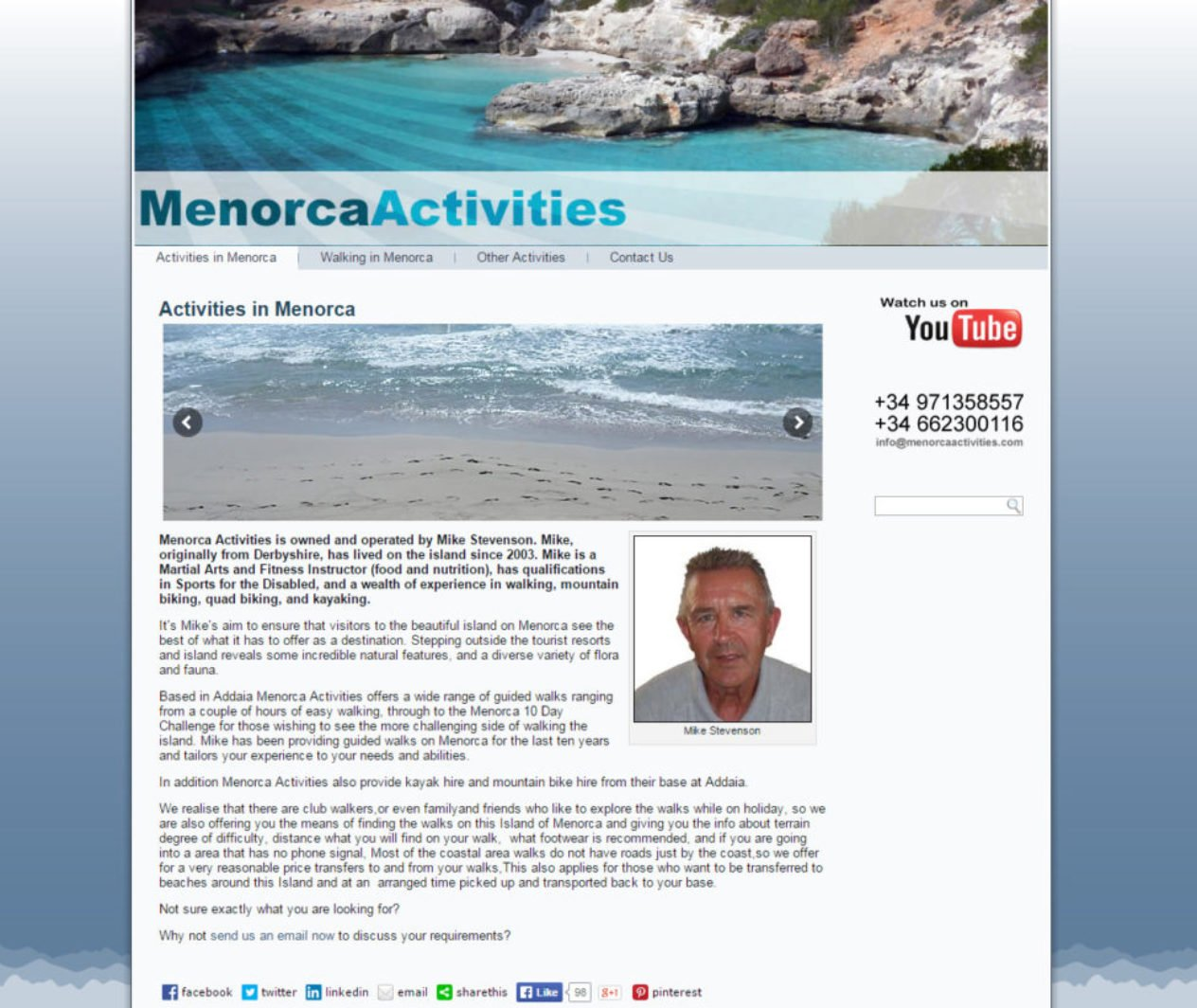 Menorca Activities