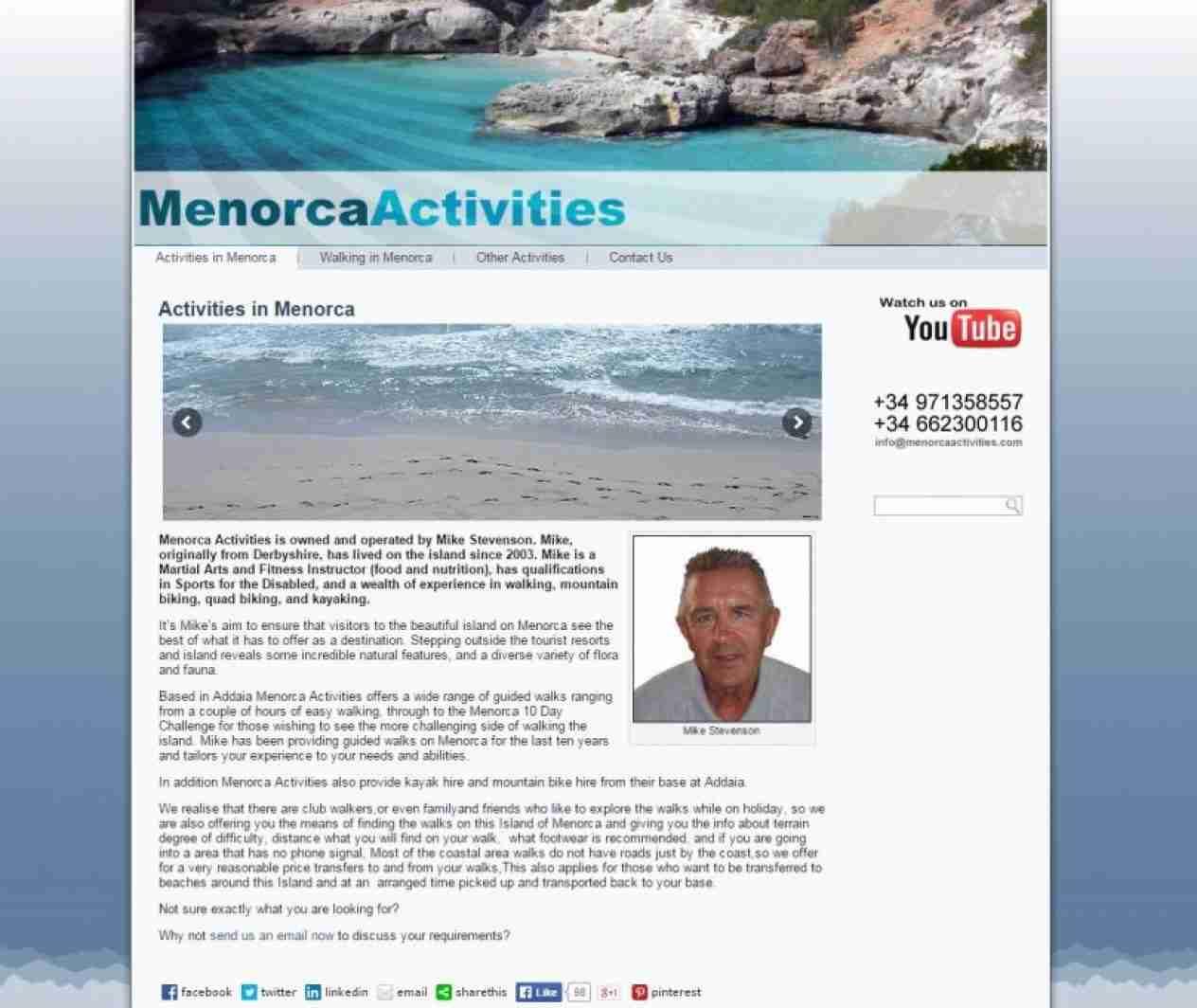Menorca Activities