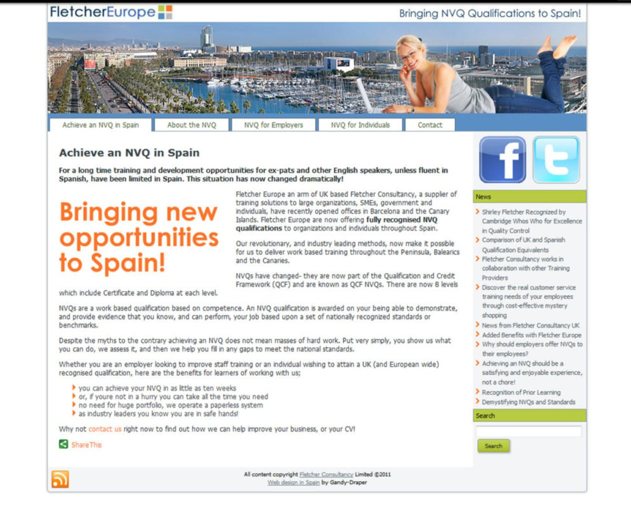 NVQ in Spain