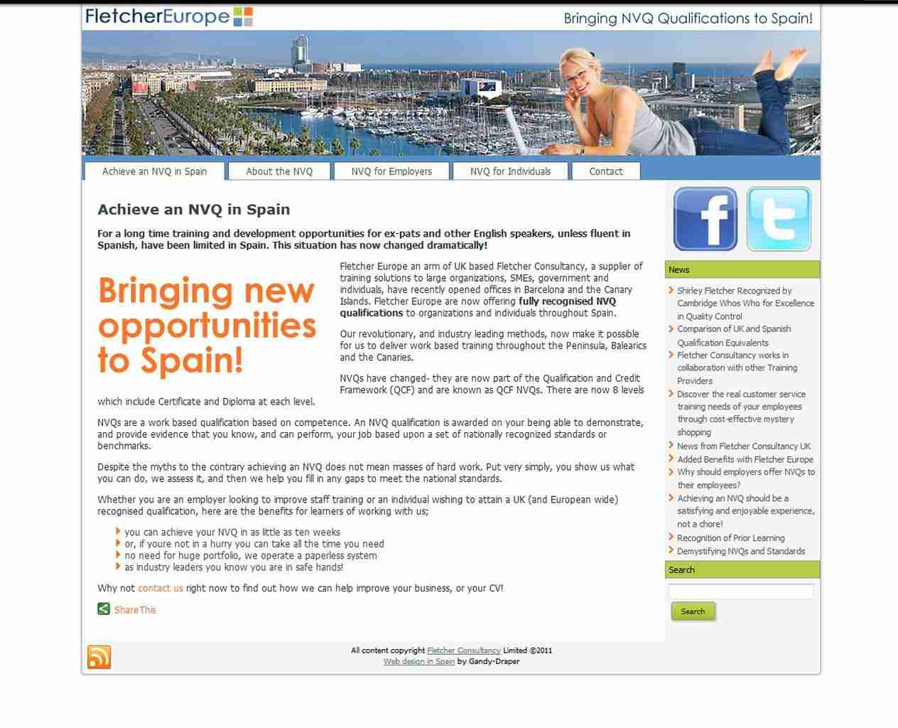 Spain Web Design and more by Gandy-Draper | Professional approach with positive ideas