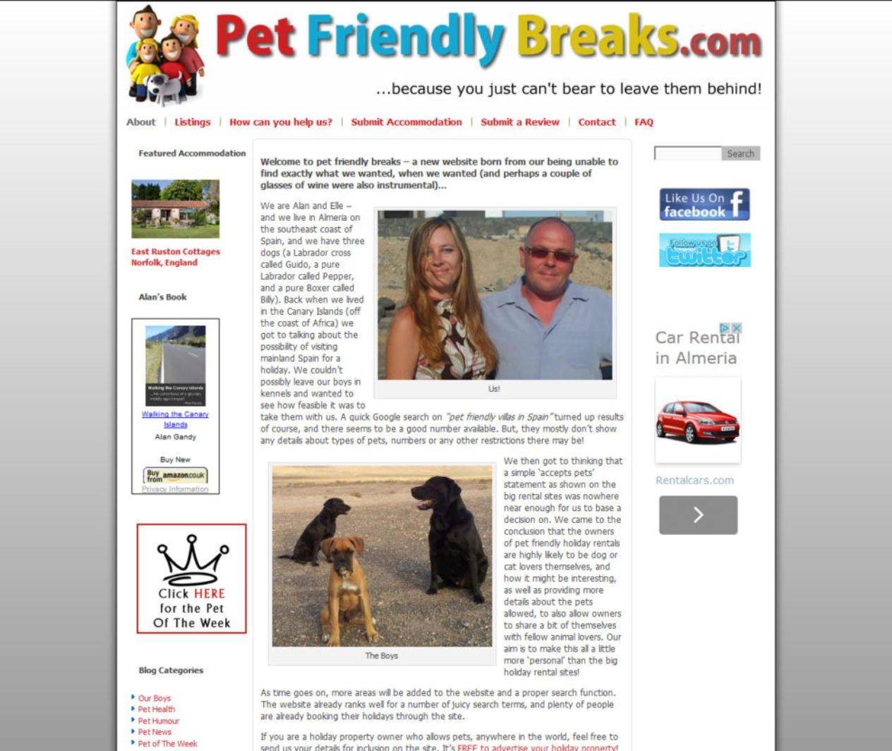 Pet Friendly Breaks
