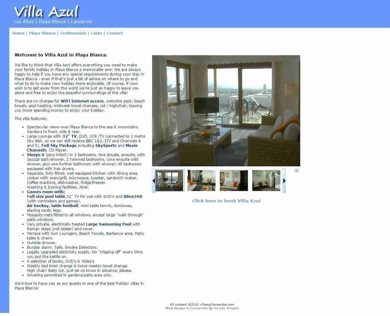 Spain Web Design and more by Gandy-Draper | I cannot praise them enough