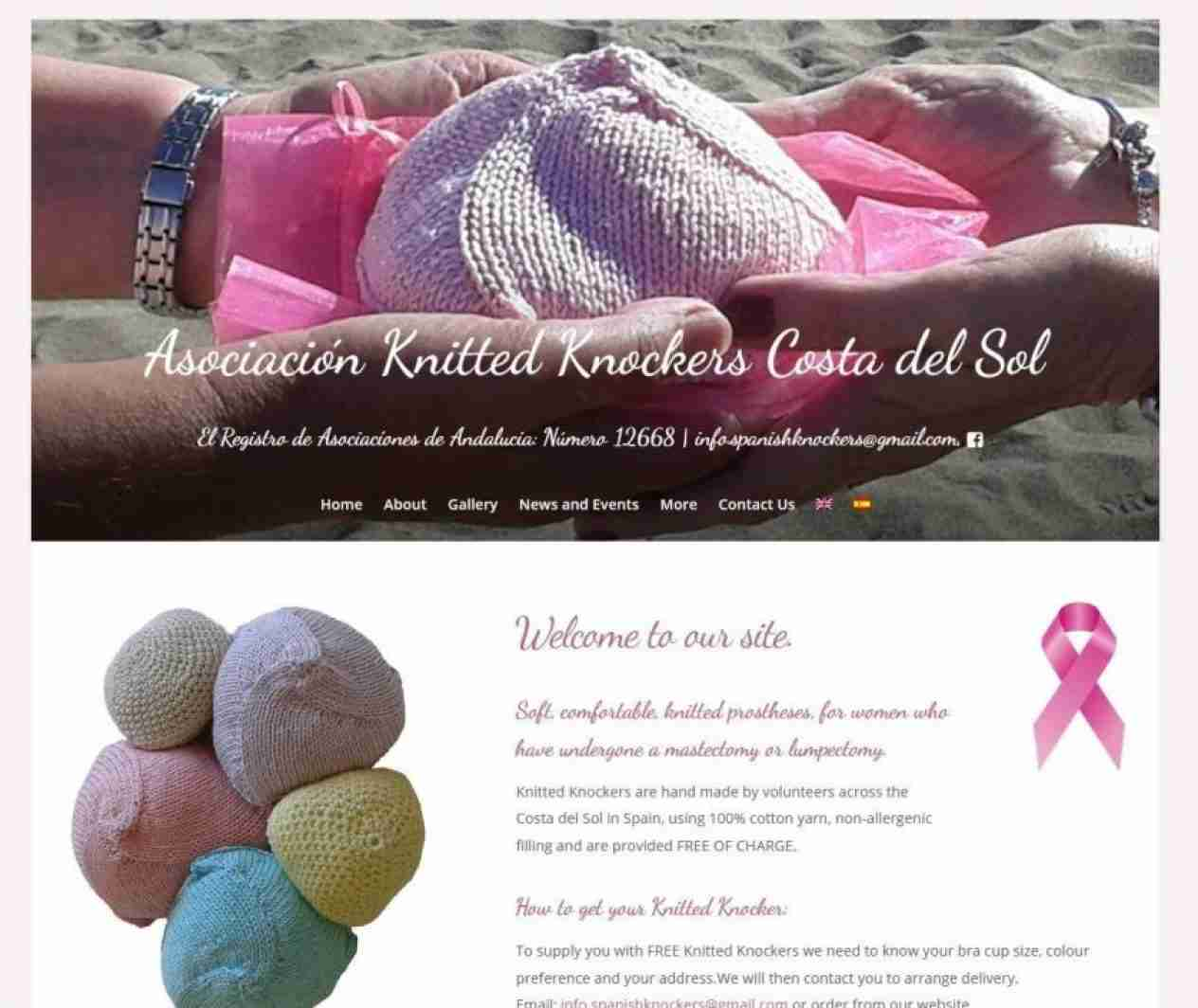 Knitted Knockers Costa del Sol Spain - Screengrab