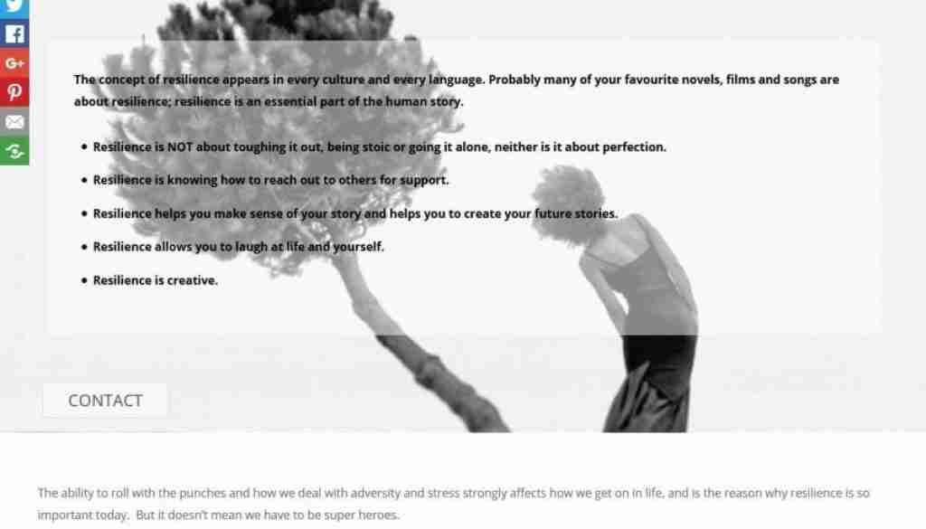 Creative Resilience Screengrab