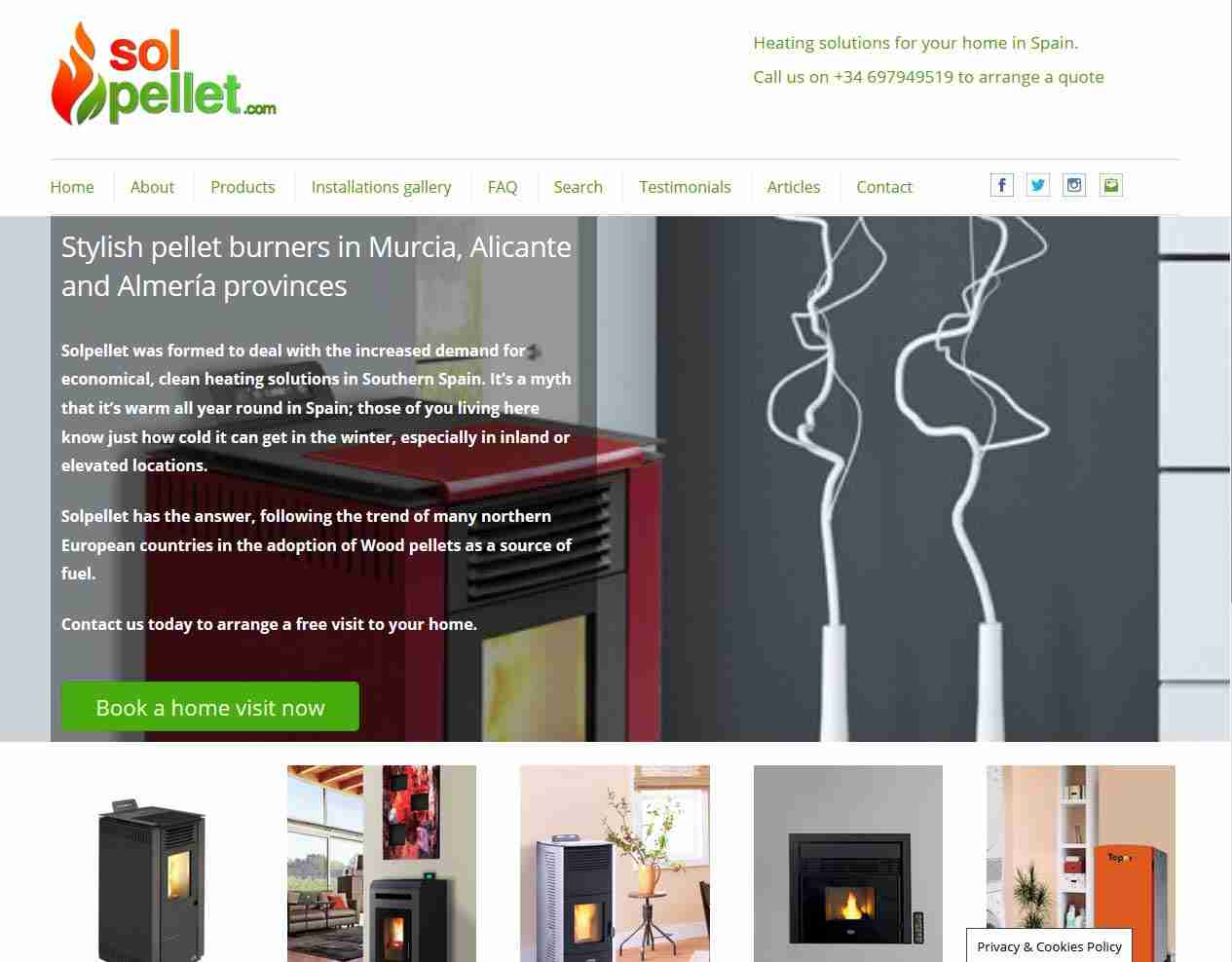 Spain Web Design and more by Gandy-Draper | Fantastic service and excellent communications