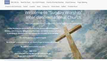 Sunday Worship Lanzarote screengrab