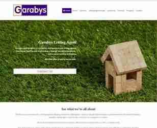 Garabys Letting Agent - screengrab