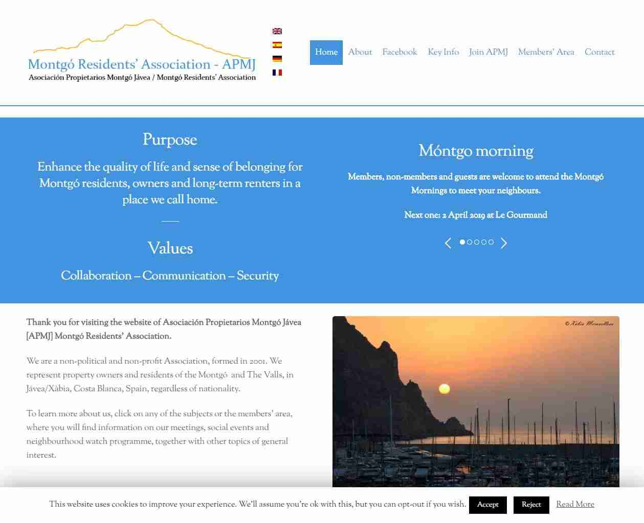 Spain Web Design and more by Gandy-Draper | A Job Well Done
