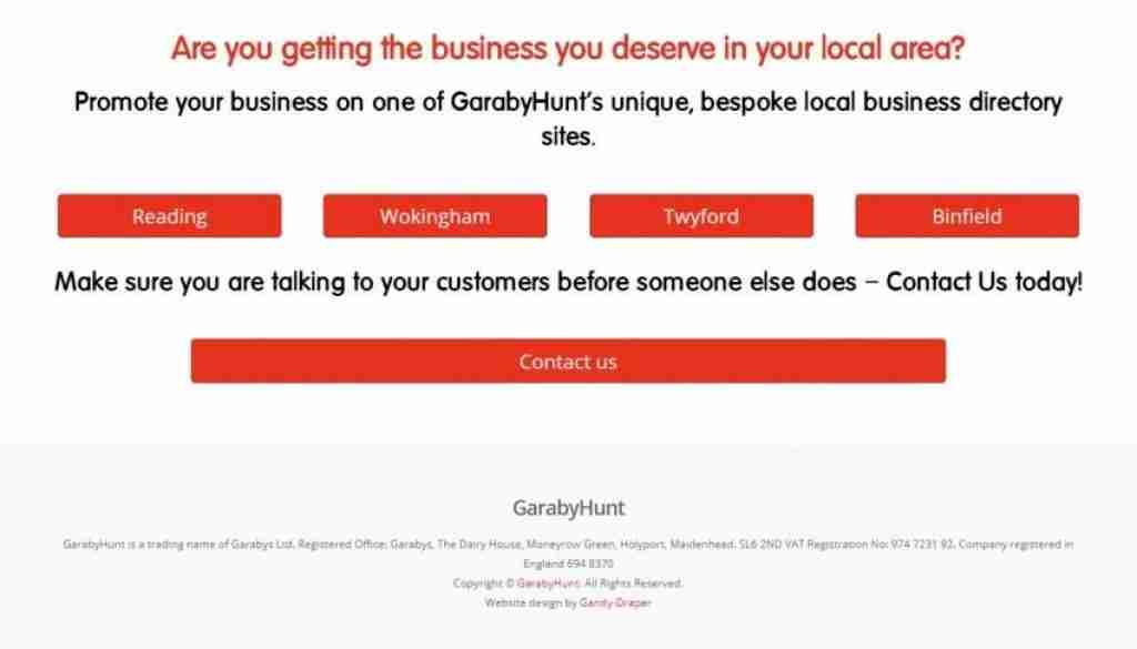 GarabyHunt - screengrab