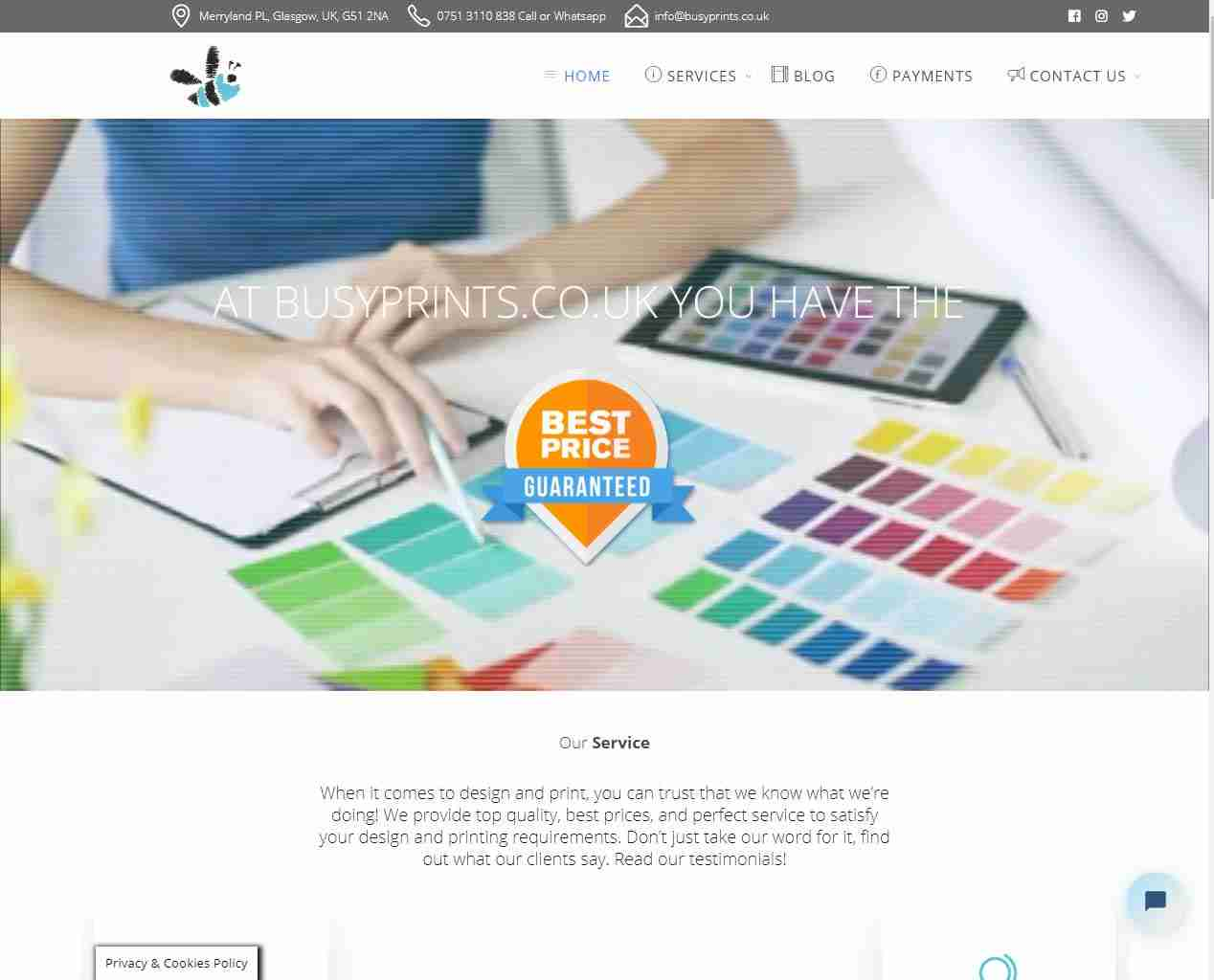 Spain Web Design and more by Gandy-Draper | Highly Recommend