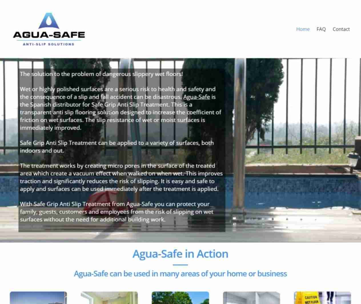 Agua-Safe - screengrab