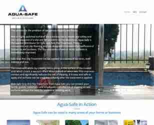 Agua-Safe - screengrab