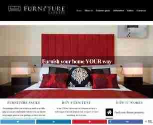 Furniture Express Spain - screengrab