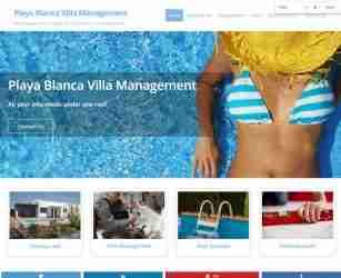 Playa Blanca Villa Management - screengrab