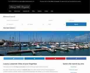 Luxury Villas Lanzarote - screengrab