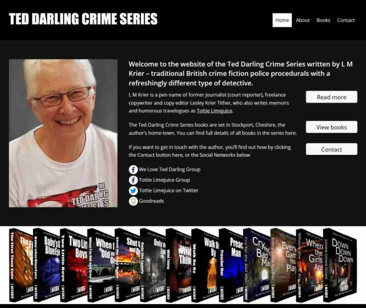 Ted Darling Crime Series - screengrab