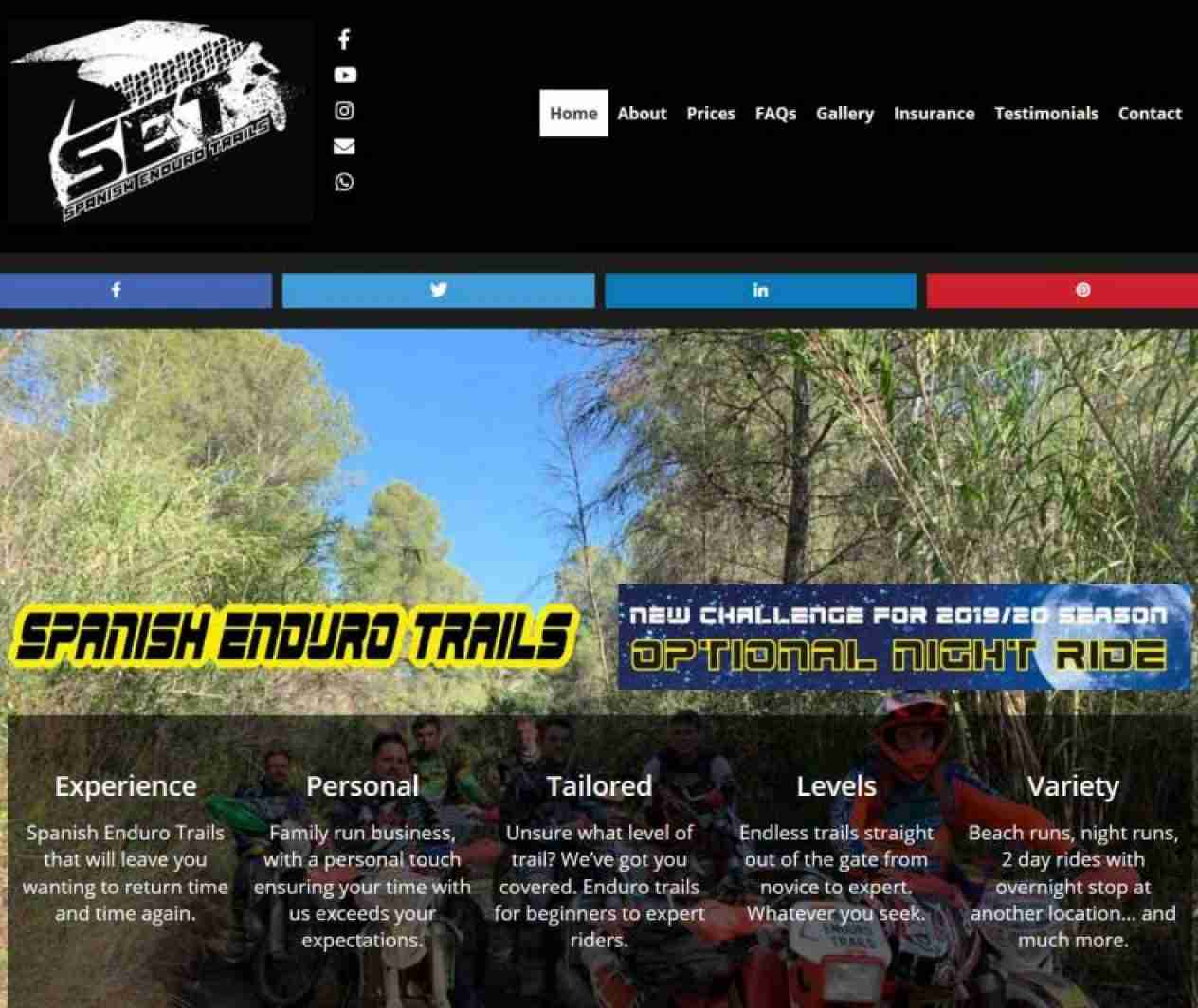 Spanish Enduro Trails