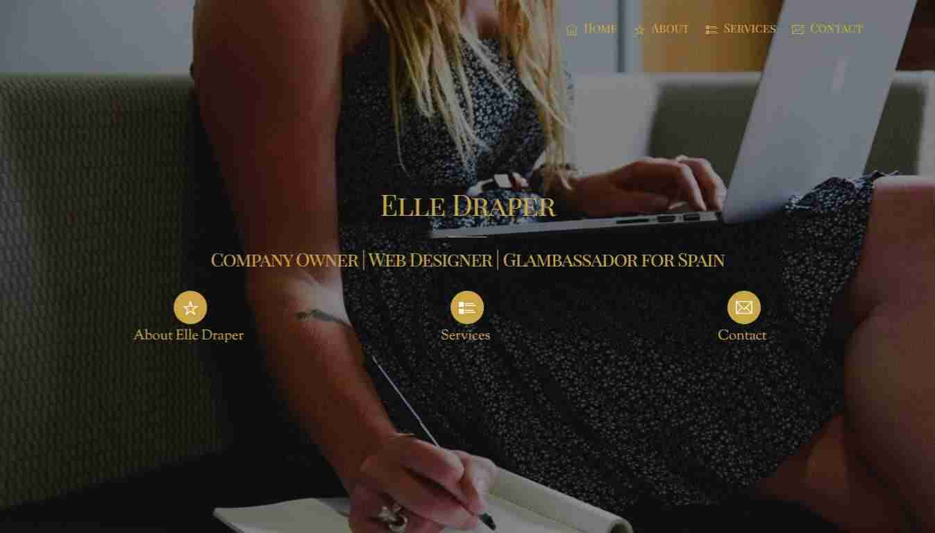 Elle Draper - home featured image