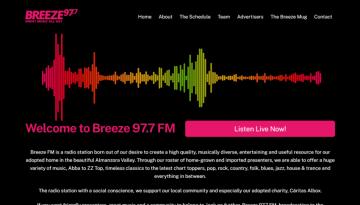 Breeze FM - screengrab