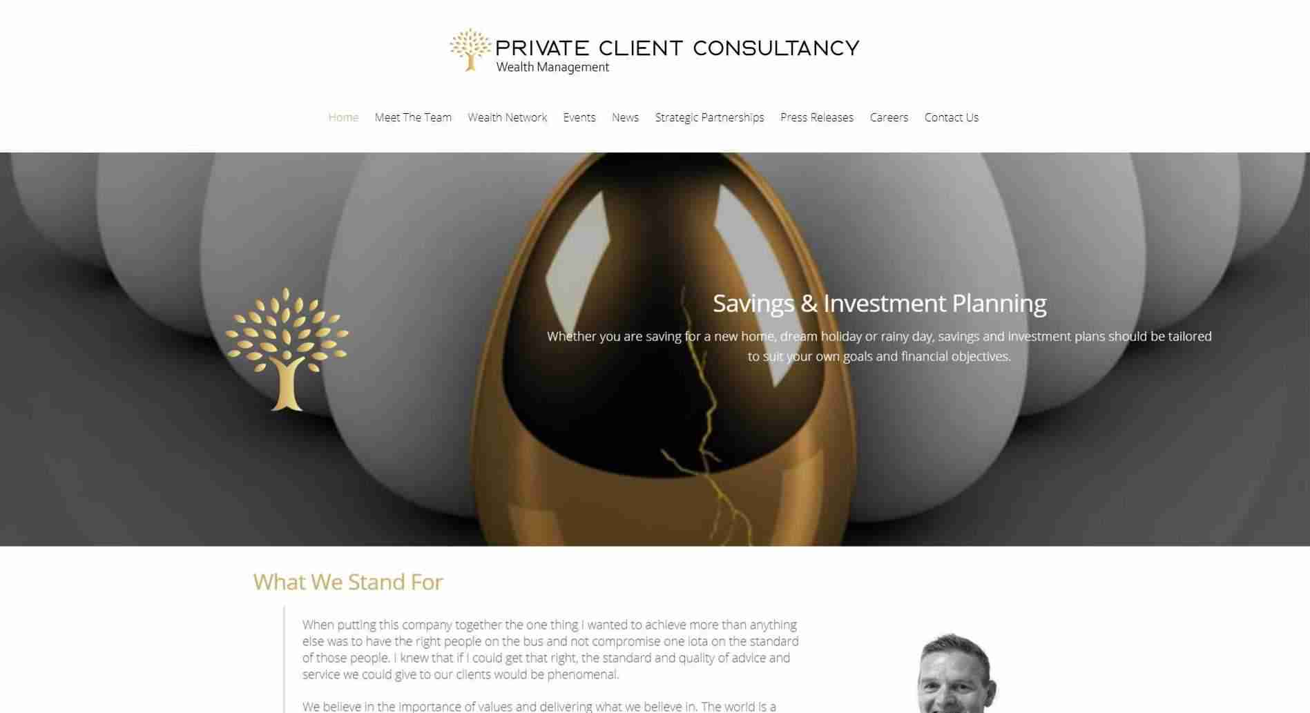 Private Client Consultancy - screengrab